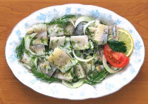 醃鯡魚 ŚLEDŹ